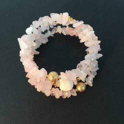Uplifting aromatherapy mood stone bracelet