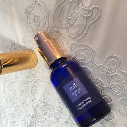Emotiv Aromatherapy Lavender pillow spray with Midnight Calm essential oil blend 30ml e