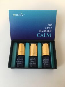 Chill out and de-stress wherever you are. 3 roll on essential oil blends. Calm your mind, lift your spirits, or deeply relax before sleep. Just choose your mood and do the 60 second ritual. ROLL. INHALE. HOLD. EXHALE. REPEAT